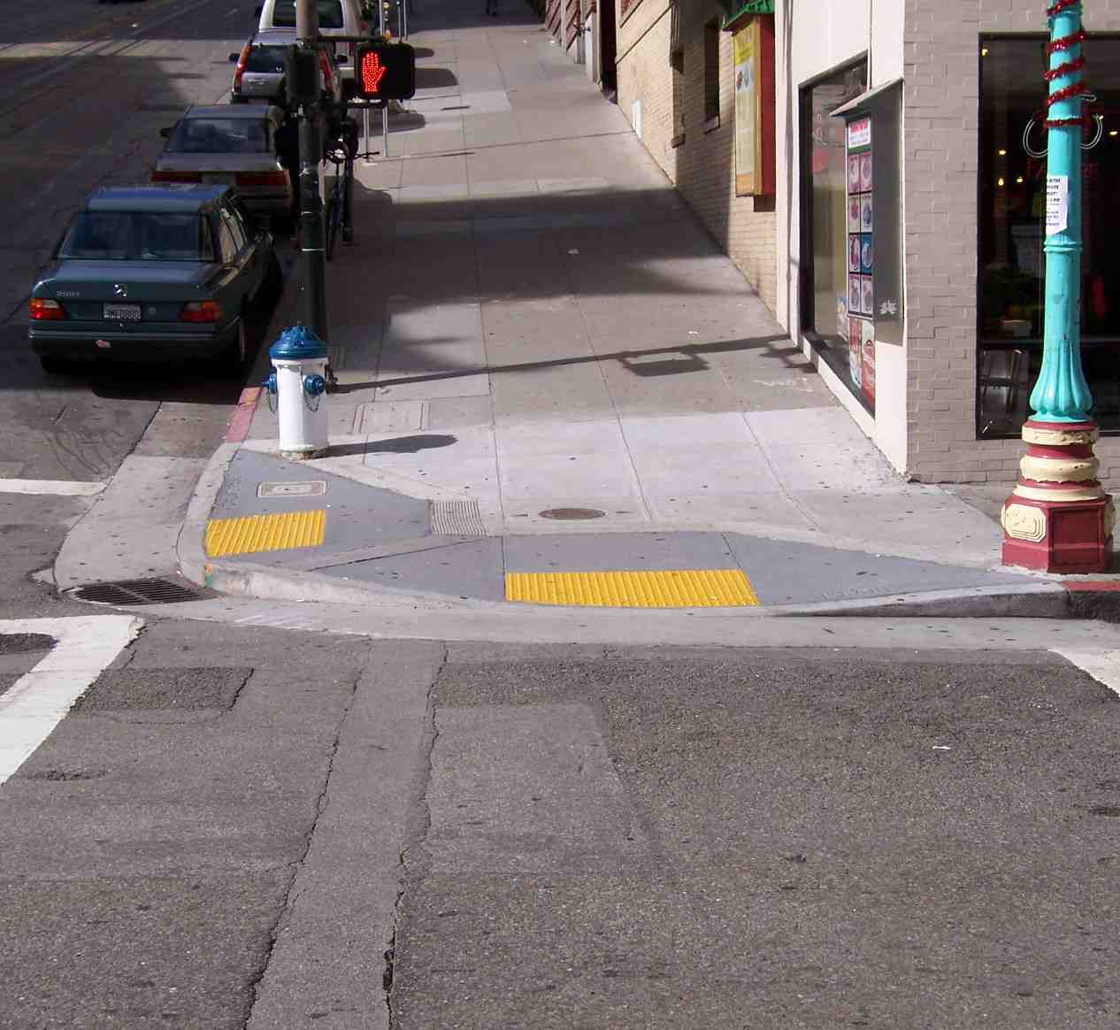 how to build a concrete curb ramp